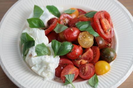 recept cherry tomaten salade